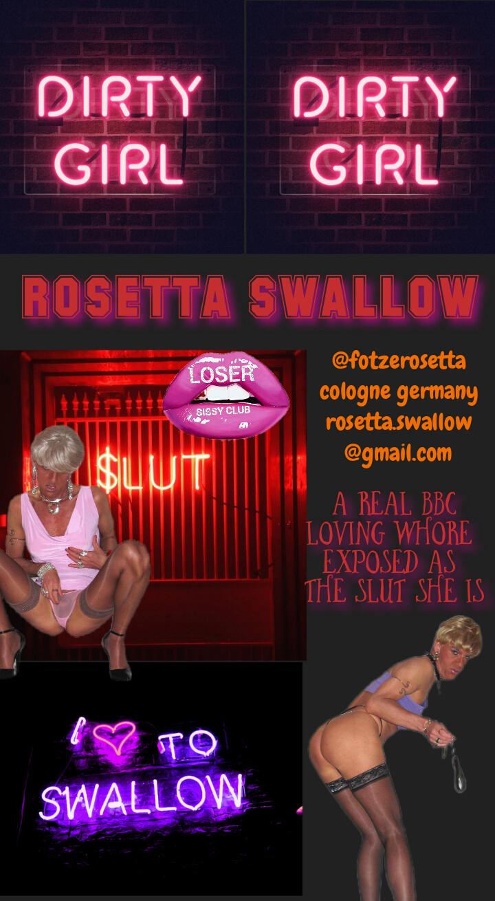 Loser sissy club Rosetta swallow