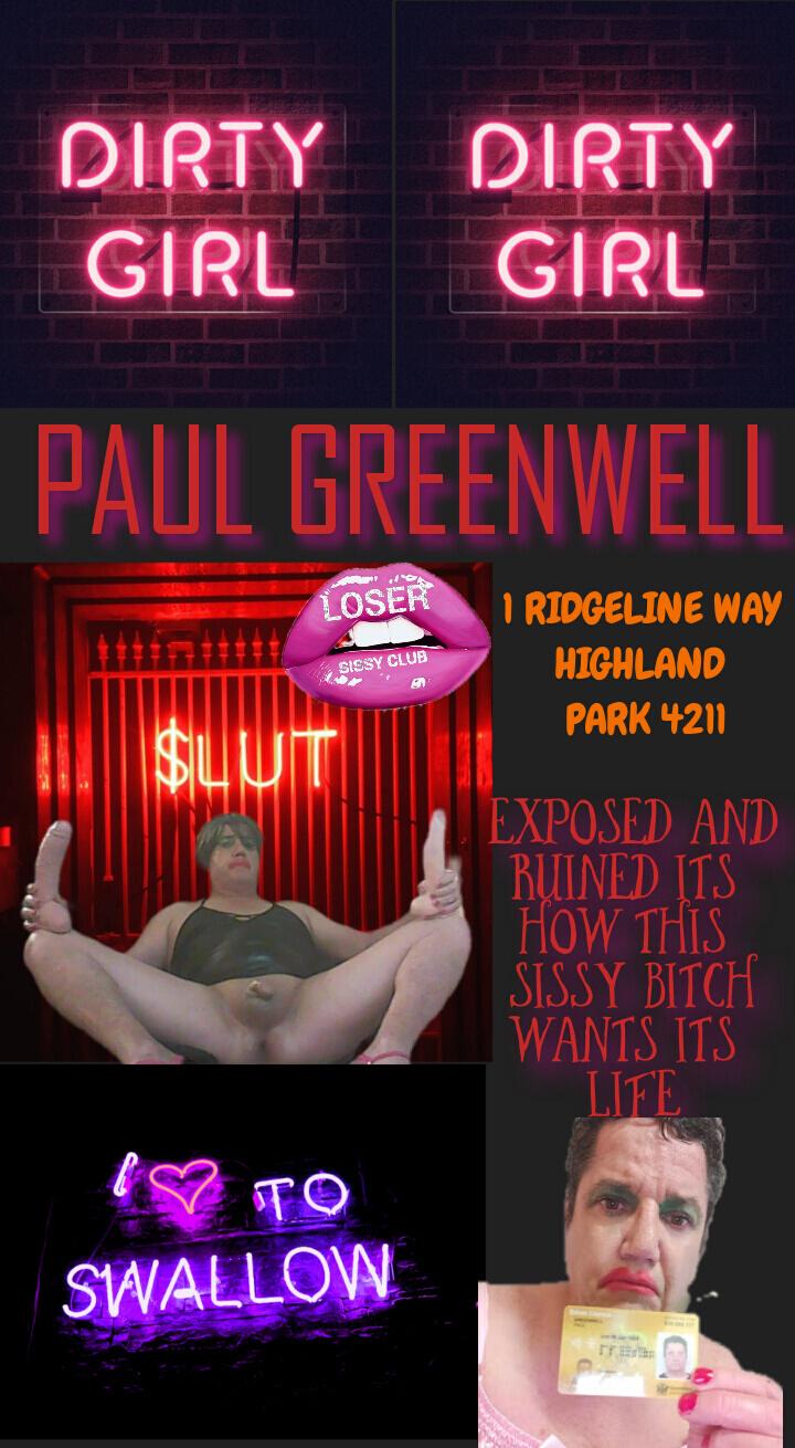 Loser sissy club Paul greenwell