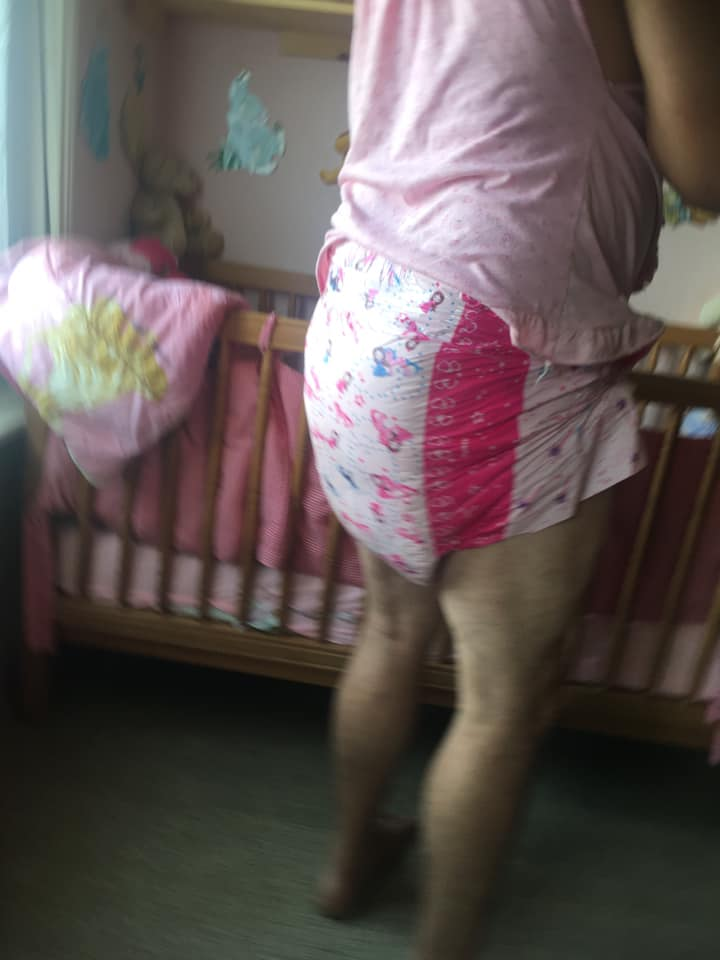 My diaper this morning