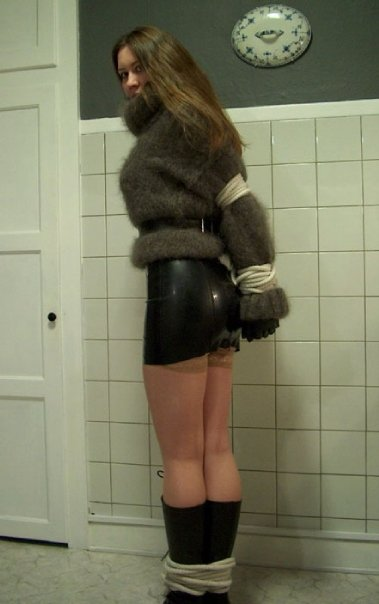 sissy slut in time out