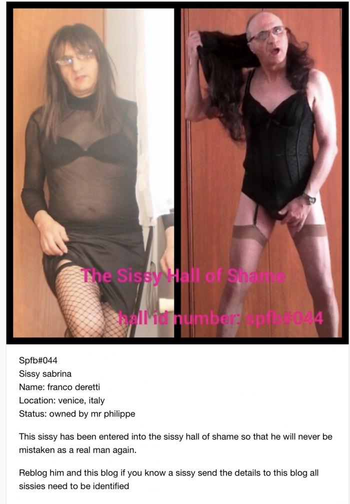 sissy exposed!