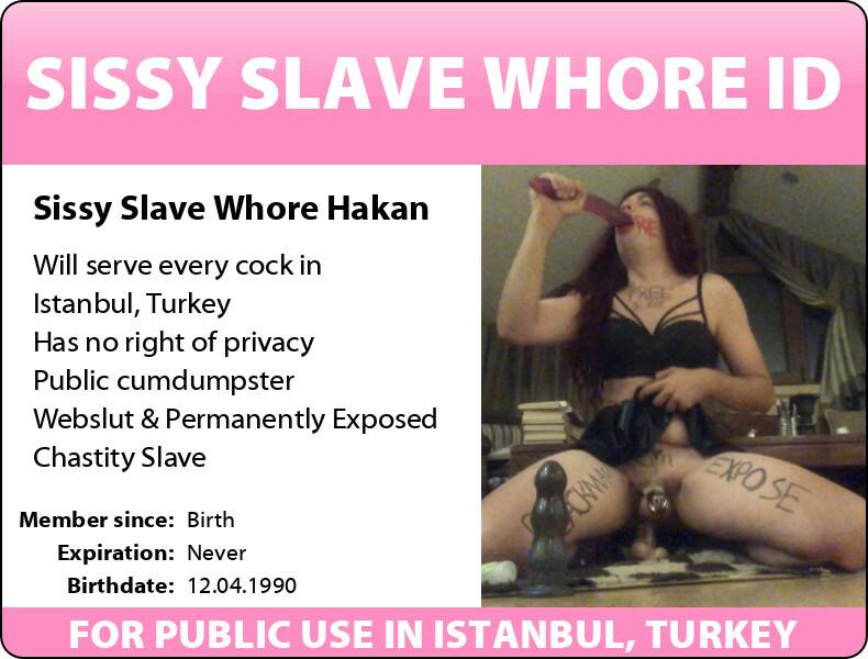 Sissy Slave Hakan Exposed