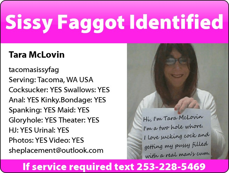 Tara McLovin in Tacoma and Des Moines, WA USA Need a hole? Simple, text, request, get serviced,  ...