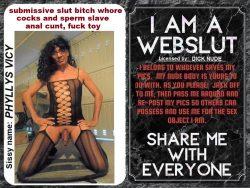 i'm a pathetic webslut