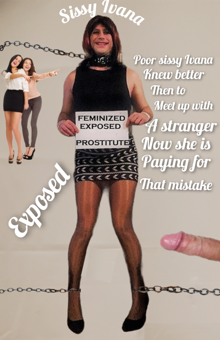 Silly sissy making mistakes