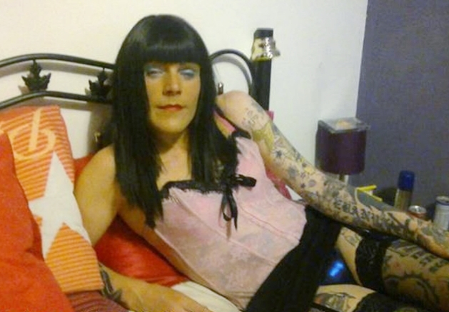 Sissy slut Dominique from bolton love sharing my sissy pics for all to see love old men hot tvs cds
