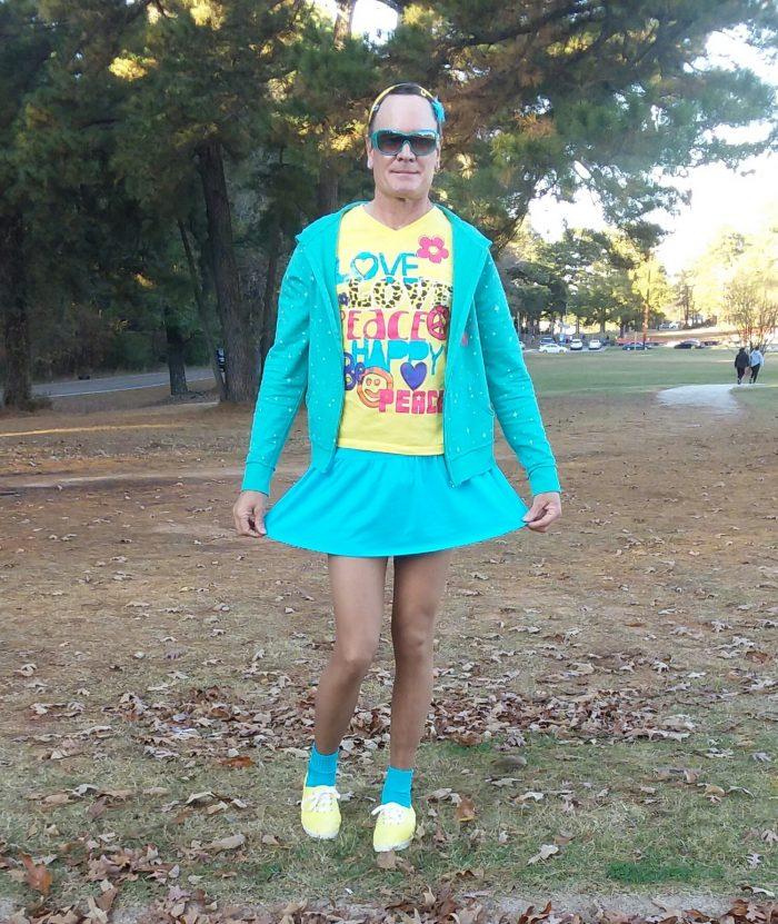 Pantyhose Wearing Fag