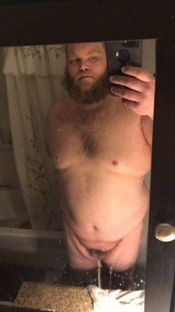 Exposed tiny penis