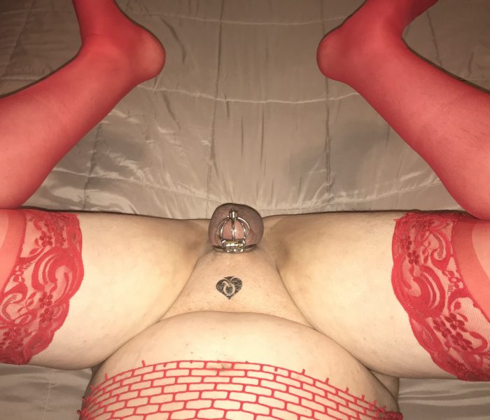 QoS cucky dressed and with legs wide open. Finish this sequence…