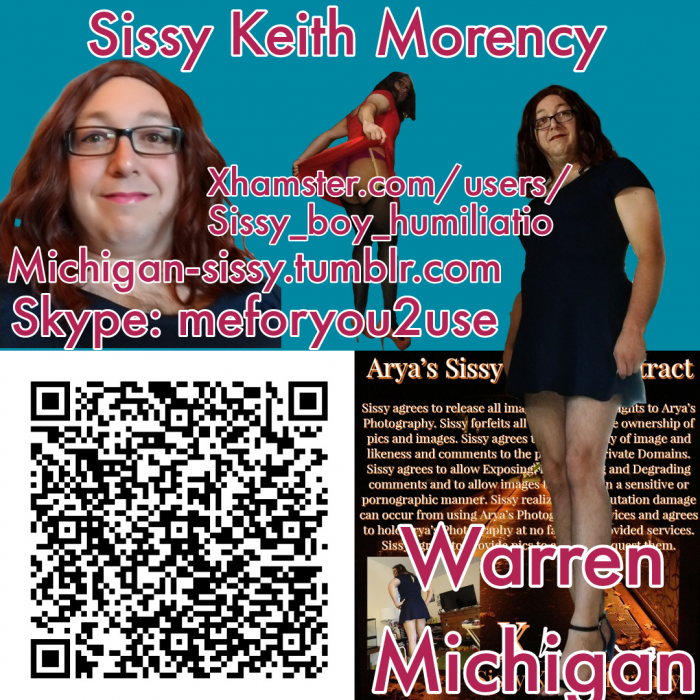 Sissy Keith Morency Sissy Loser From Michigan