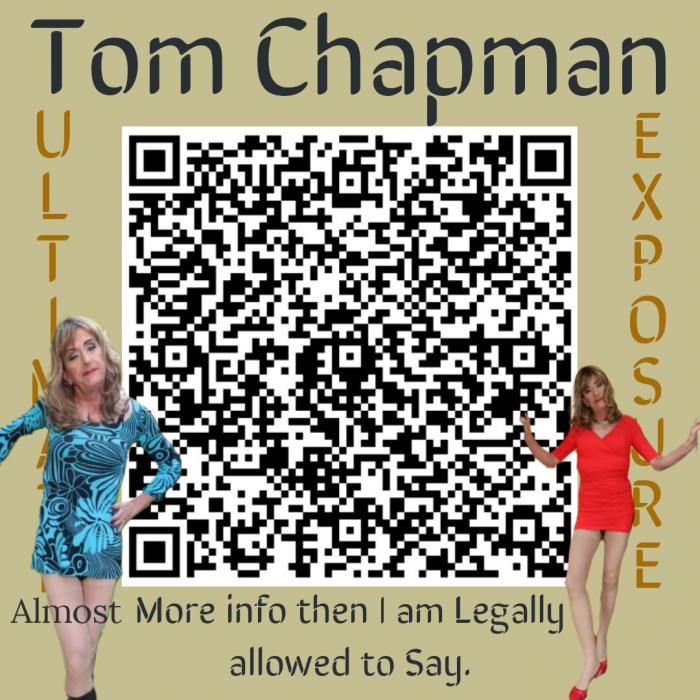 Sissy Tom Chapman of Nottingham Qr Code Exposure