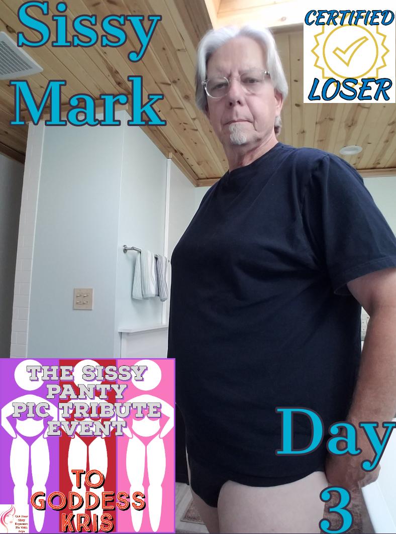 Sissy Mark Exposure Caption