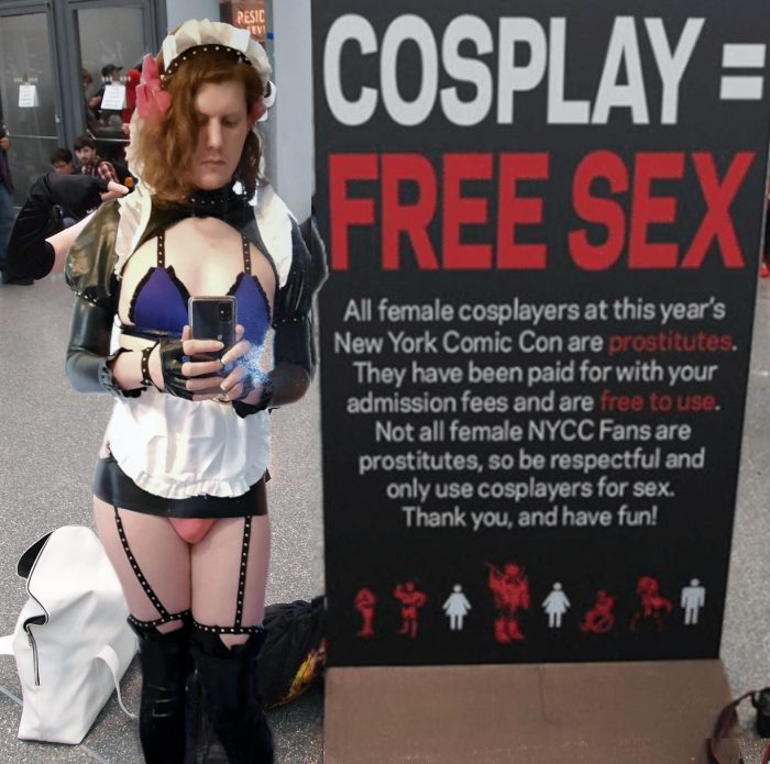 Cosplay convention whore