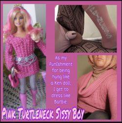 I am a Gay Sissy Sweater Princess