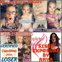 CagedSissy2020 Exposed and Humiliated