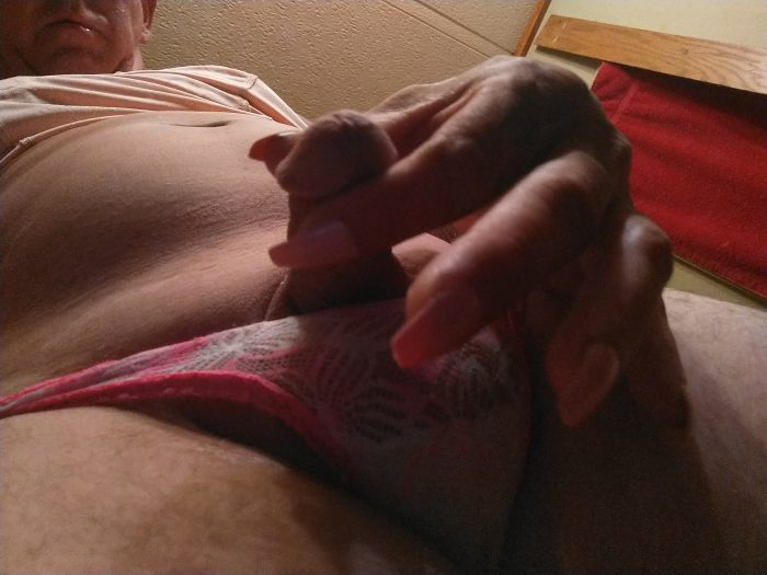 Sissy girly girl faggot with a inch when fully erect sissy clitty and proud to be a Sissy cock c ...