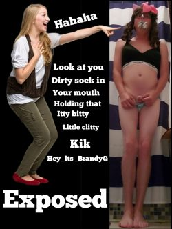 Brandy Star captioned and exposed