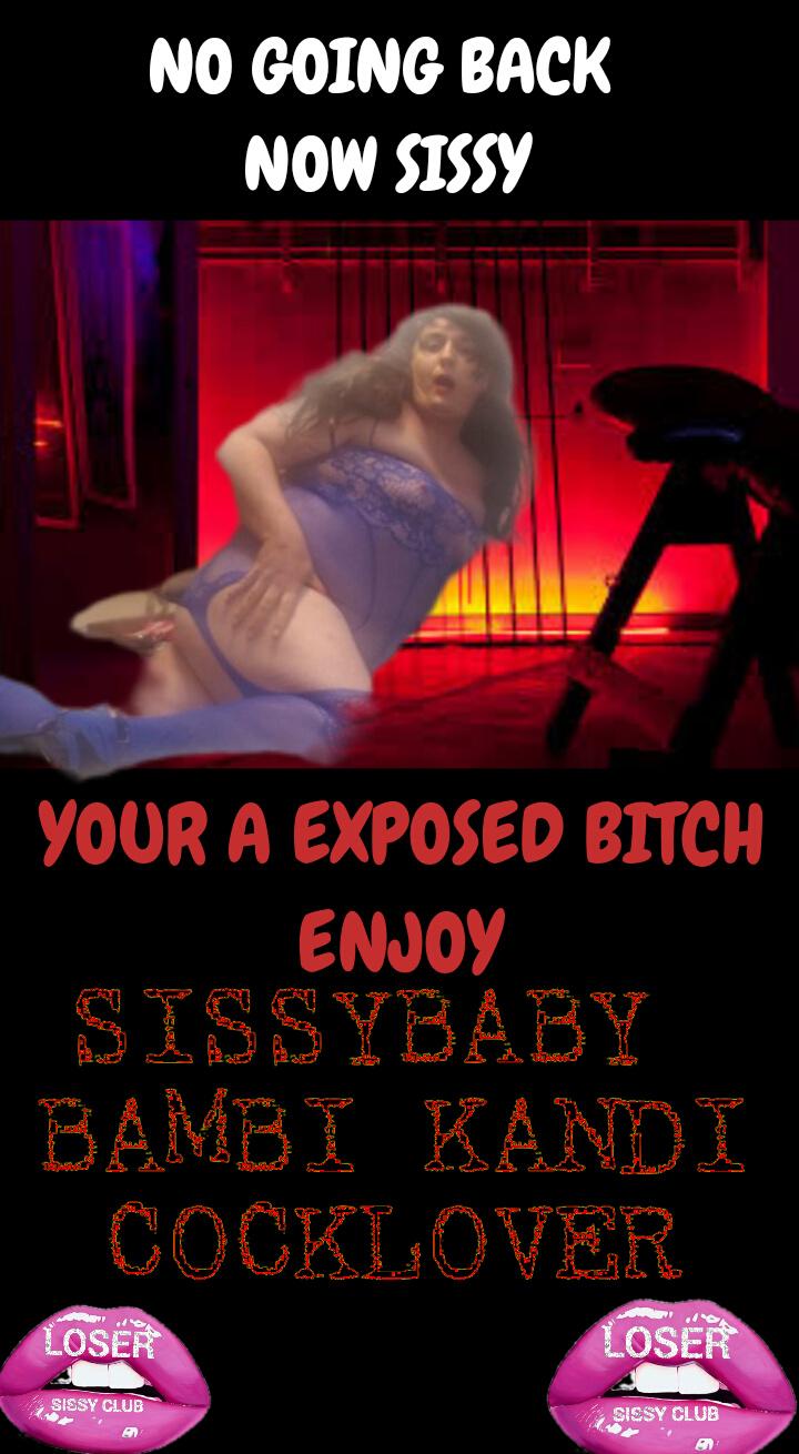 The loser sissy club sissy Bambi