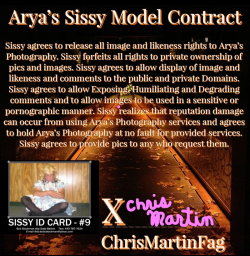 Sissy ChrisMartinFag's PEA