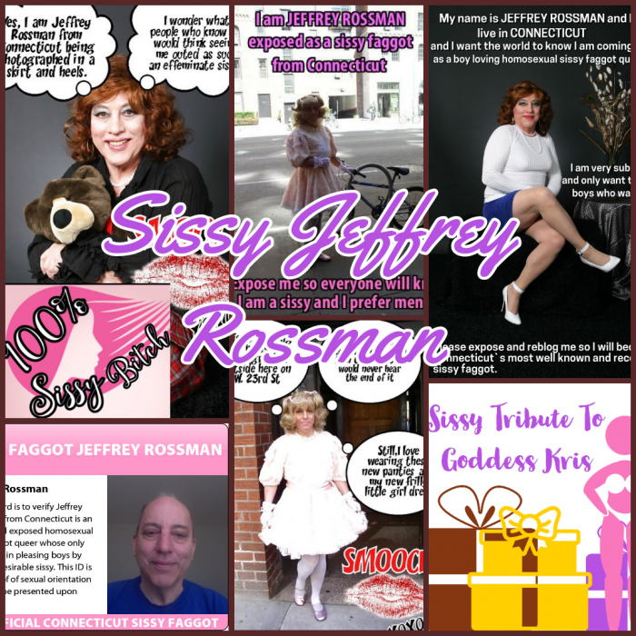 Sissy Leah aka Sissy Jeffrey Rossman Caption