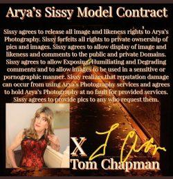 Sissy Tom Chapman's PEA
