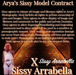 Sissy Arrabella's PEA