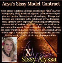 Sissy Alyssa's PEA