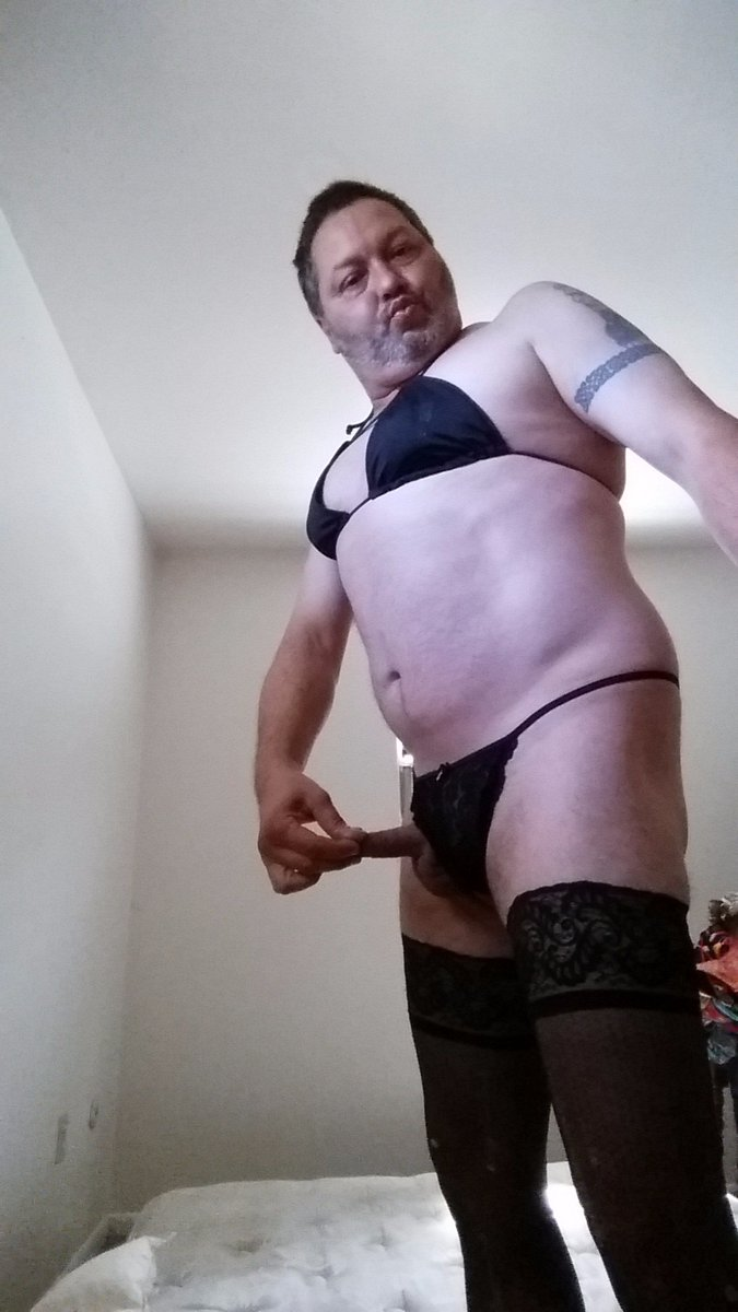 Sissy Chris Arey showing off for Sheri