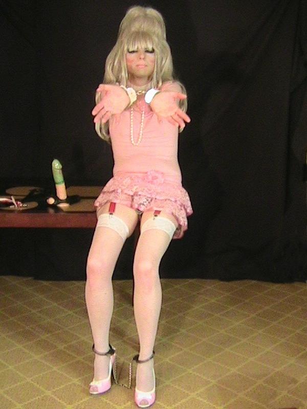 Pink Dress Handcuffs