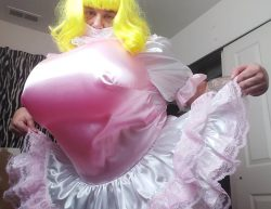 Sissy shemale with Huge Tits