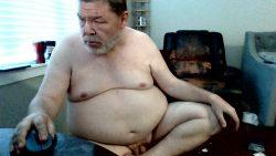 sissy sitting naked