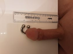 Pierced and measured