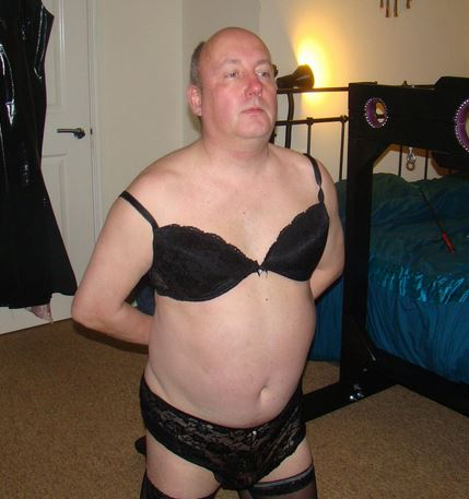Sissy slut Ralph collins owned by goddessdominique
