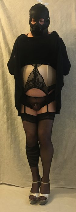 Show us what's under your dress Sissy