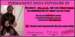 Elizabeth exposure. Share. Laughed at.