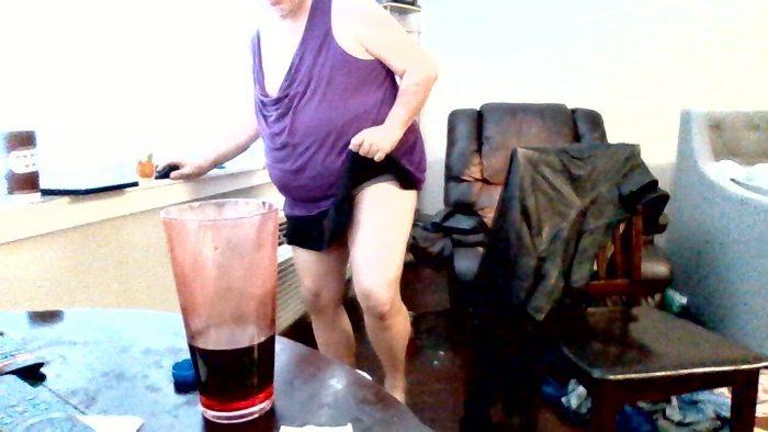 love wearing my skirt and panties